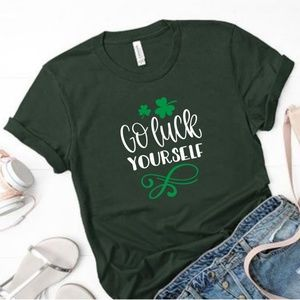 Go Luck Yourself St. Patricks Day Tee